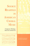 Source Readings in American Choral Music